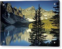 Morraine Lake II Acrylic Print