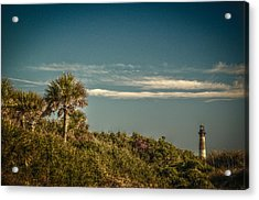 Morris Island Light Charleston Sc Acrylic Print