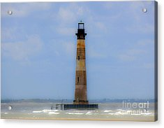 Acrylic Print featuring the photograph Sand Sea And Whimsey by Dale Powell