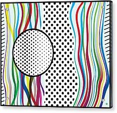 Morris Like Pop Art Acrylic Print