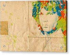 Morrison Watercolor Splash Acrylic Print by Paulette B Wright