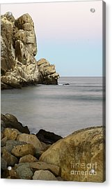 Morro Bay Morning 2 Acrylic Print by Terry Garvin