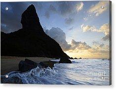 Morro Do Pico Brazil Evening Light Acrylic Print by Bob Christopher