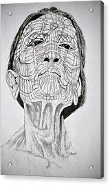Morro Old Woman Acrylic Print by Glenn Calloway