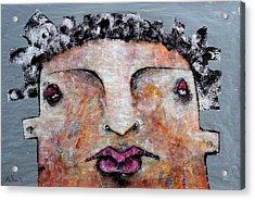 Mortalis No 5 Acrylic Print by Mark M  Mellon