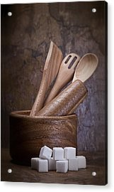 Mortar And Pestle Still Life II Acrylic Print by Tom Mc Nemar