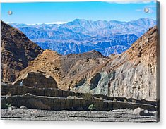 Acrylic Print featuring the photograph Mosaic Canyon Picnic by Stuart Litoff