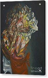 Mosaic Embrace Acrylic Print