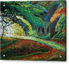 Mosaic Nature Walk Acrylic Print