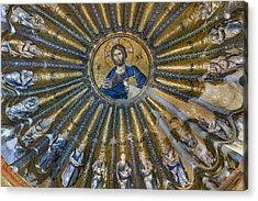 Mosaic Of Christ Pantocrator Acrylic Print