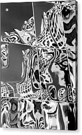 Mosaic Acrylic Print by Steven Huszar