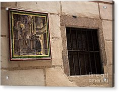 Mosaic Window Acrylic Print by Rene Triay Photography