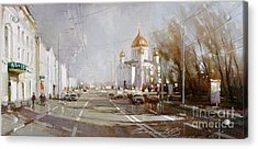 Moscow. Cathedral Of Christ The Savior Acrylic Print