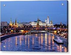 Moscow Kremlin Acrylic Print by Alex Sukonkin