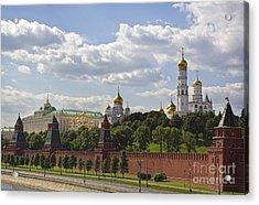 Moscow Kremlin Acrylic Print by Elena Nosyreva