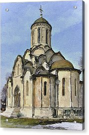 Moscow Old Streets 32 Acrylic Print