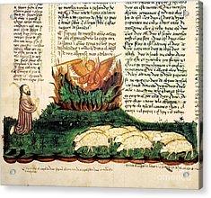 Moses At The Burning Bush, 1430 Artwork Acrylic Print