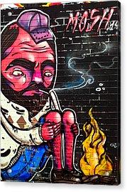 Mosh Wall Art Acrylic Print