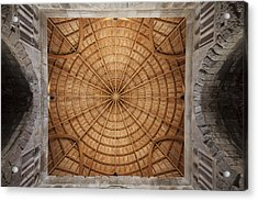 Mosque Ceiling Acrylic Print
