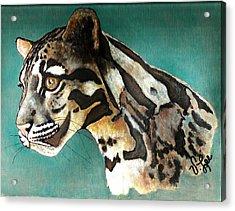 Most Elegant Leopard Acrylic Print