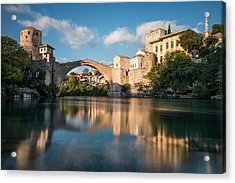 Mostar Bridge Acrylic Print