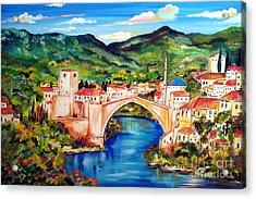Mostar Acrylic Print