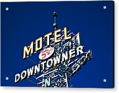 Motel Downtowner Acrylic Print