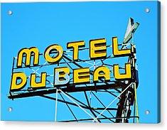 Motel Du Beau Acrylic Print