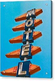 Motel Large Acrylic Print
