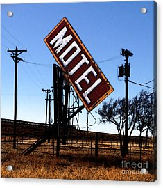 Motel - Route 66 Acrylic Print