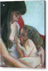 Mother And Child - Detail Acrylic Print