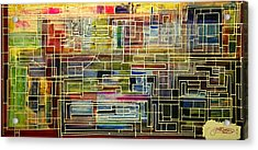 Mother Board Acrylic Print