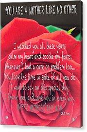 Mother Day Cards Acrylic Print by Debra     Vatalaro