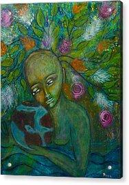 Mother Earth Acrylic Print by Havi Mandell