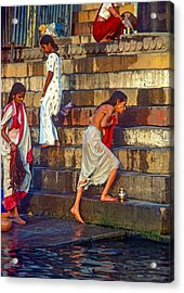 Mother Ganges Acrylic Print by Steve Harrington