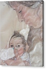 Mother Love Acrylic Print