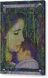 Mother Love Of Father Heart Acrylic Print
