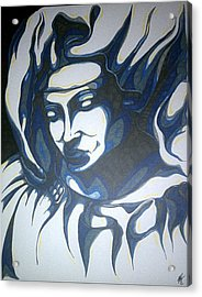 Mother Mary Concept Acrylic Print by Michael Toth