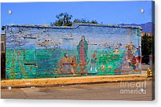 Mother Mary II Acrylic Print by Kip Krause