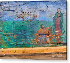 Mother Mary Acrylic Print by Kip Krause