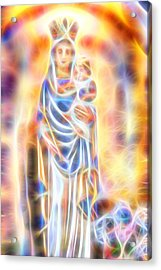 Acrylic Print featuring the painting Mother Of Light by Dave Luebbert