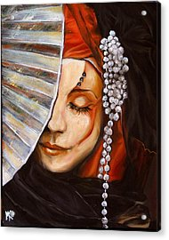 Mother Of Pearl Acrylic Print