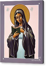 Mother Of The Incarnate Word 071 Acrylic Print