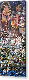Mother Spirit Acrylic Print by Leela Payne