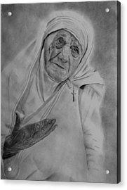 Mother Theresa 2 Acrylic Print
