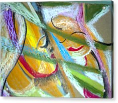 Mother With Daughter Acrylic Print