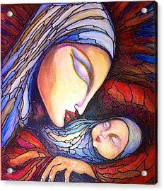 Motherhood Acrylic Print