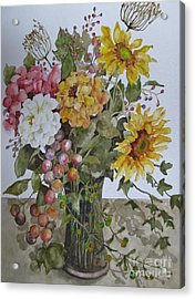 Mother's Day Bouquet Acrylic Print by Karen Olson