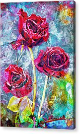 Mothers Day Rose Acrylic Print