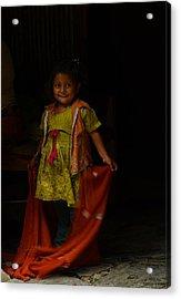 Mother's Little Helper Acrylic Print by Aaron Bedell